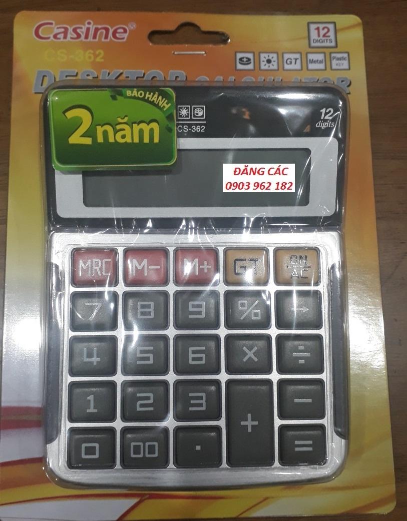 Máy tính Casine CS-362 12 số